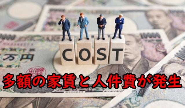 お金の画像にCOSTの文字
